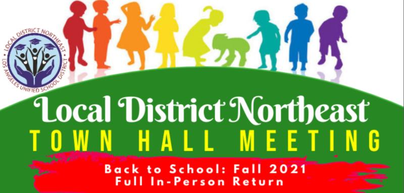 LDNE Town Hall Meeting - Back to School: Fall 2021 / LDNE Junta Comunitaria - Regreso a clases: otoño 2021 Featured Photo