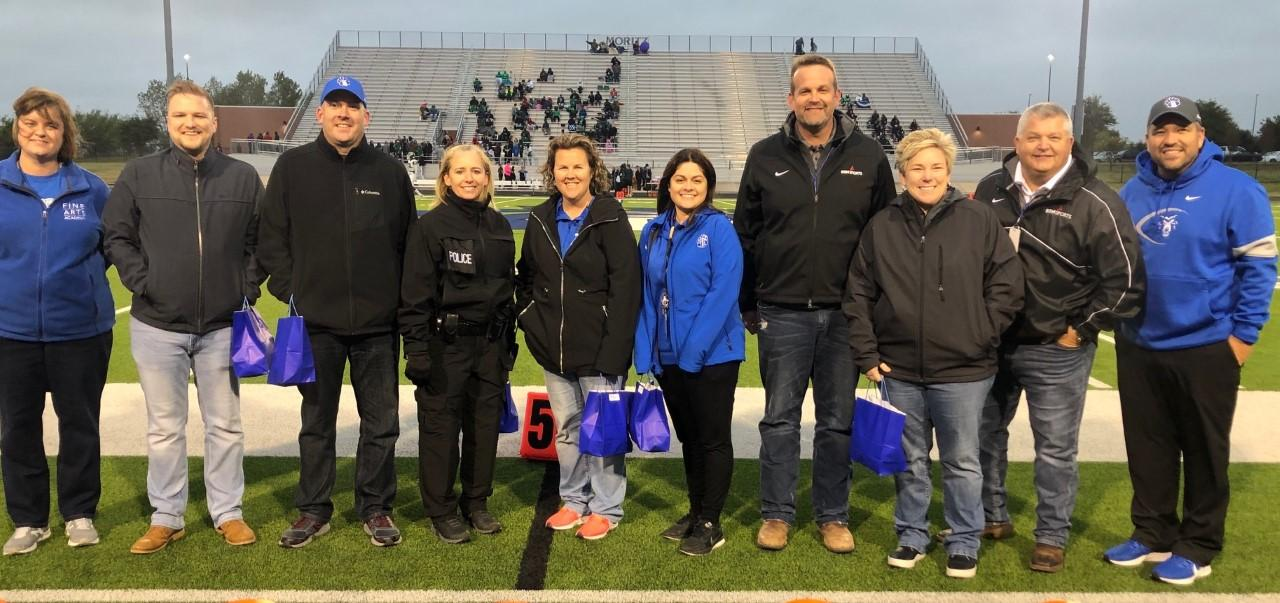 The White Settlement ISD Athletic Department honored eight individuals as the Brewer Bears of the Week on Oct. 25 for their outstanding school spirit and support of the Brewer Bears.