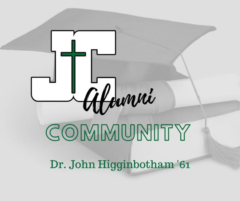 Alumni in the News: Dr. John Higginbotham '61 Featured Photo