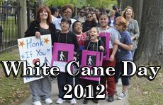 White Cane Day Tweet Image from 2012 parade
