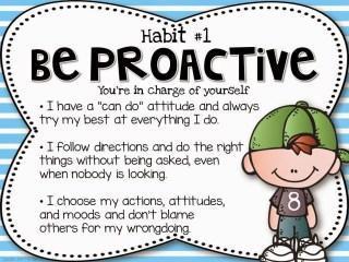 Be Proactive Leader in me Slide