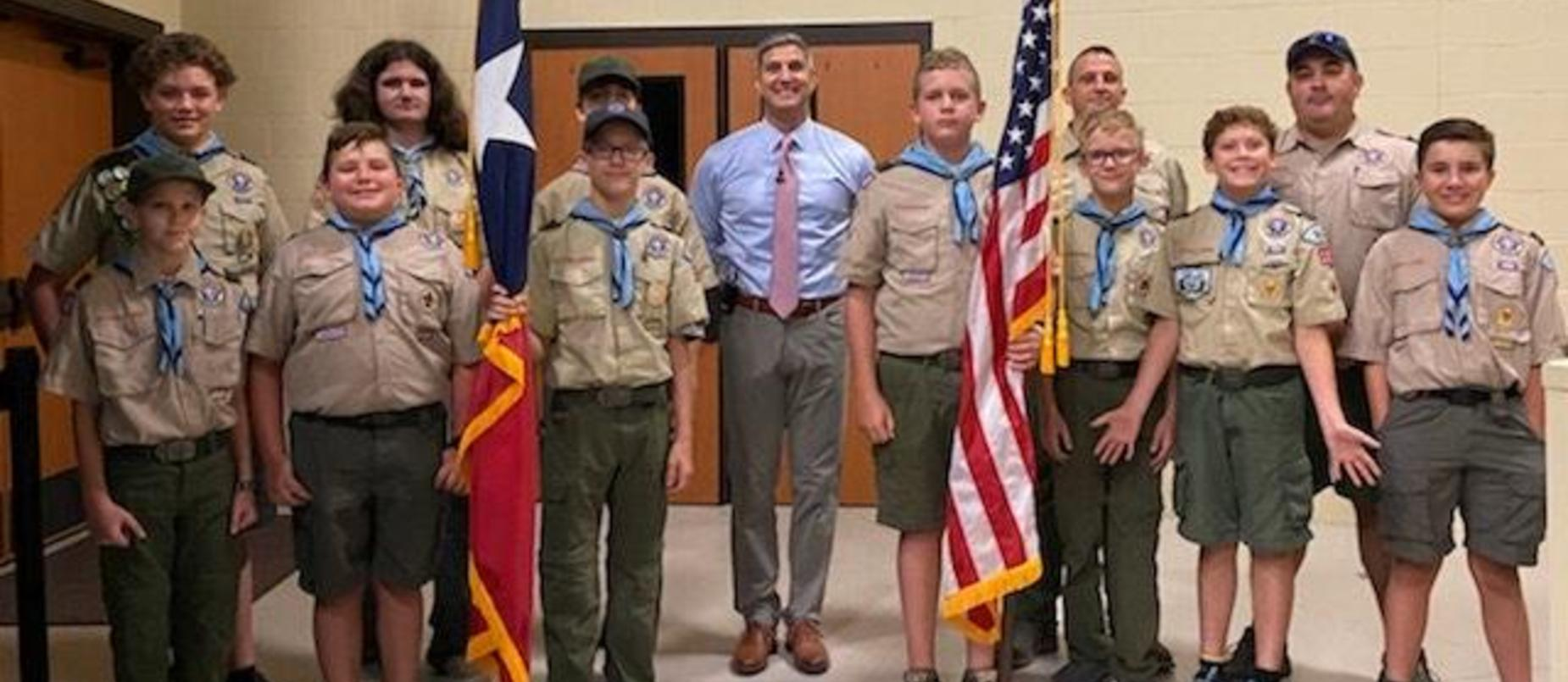 LISD Convocation Boy Scouts of America