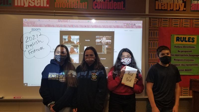 kids in virtual meeting