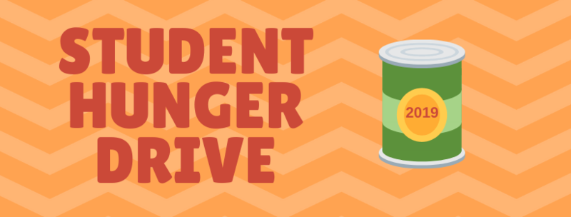 Student Hunger Drive Activities Featured Photo