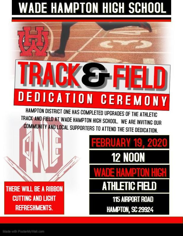Track and Field Dedication Ceremony