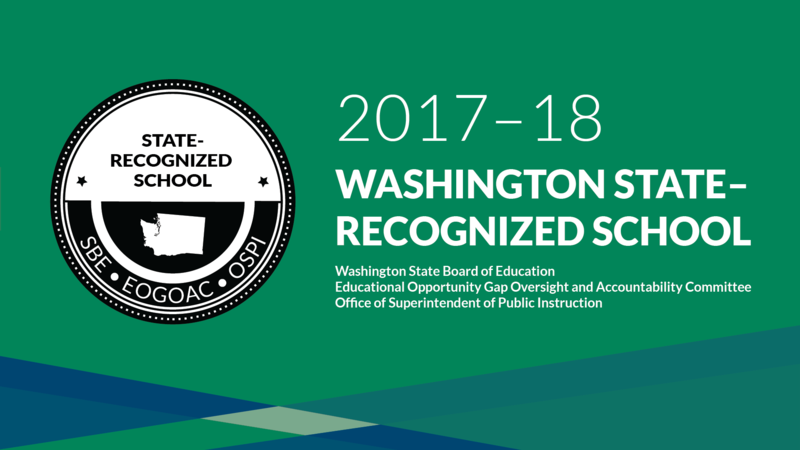 2017-2018 State Recognized Schools Graphic