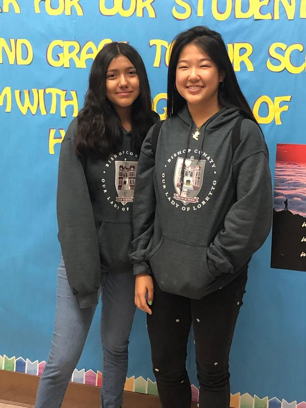 Grads Chloe Kim and Brianna Lopez Come Back to Help Featured Photo