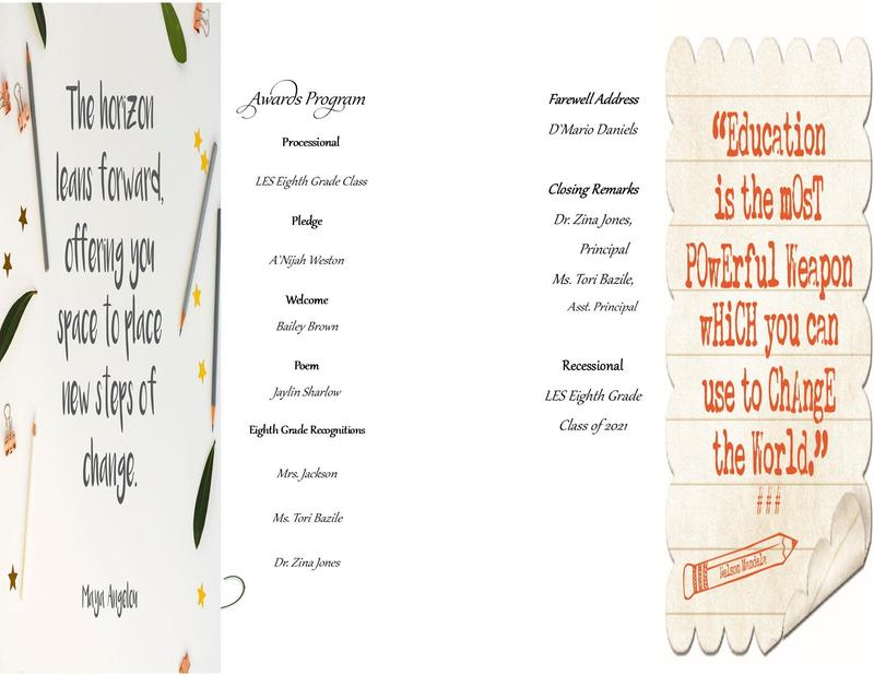 LES 2021 8th Grade Ceremony Thumbnail Image