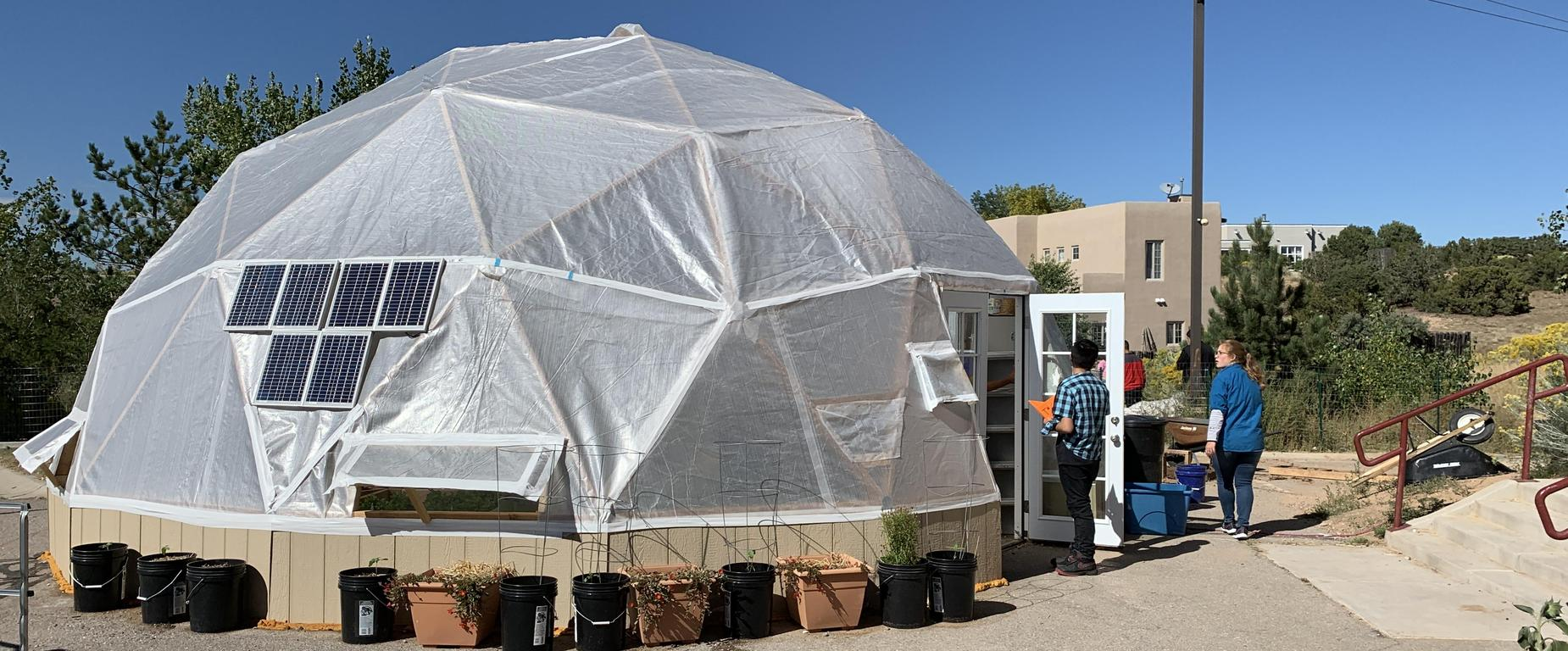 Hydroponics Dome