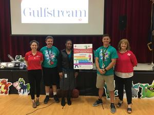 American Heart Association Donates Physical Education Equipment To Ridgeland Elementary