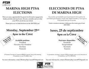 PTSA Elections