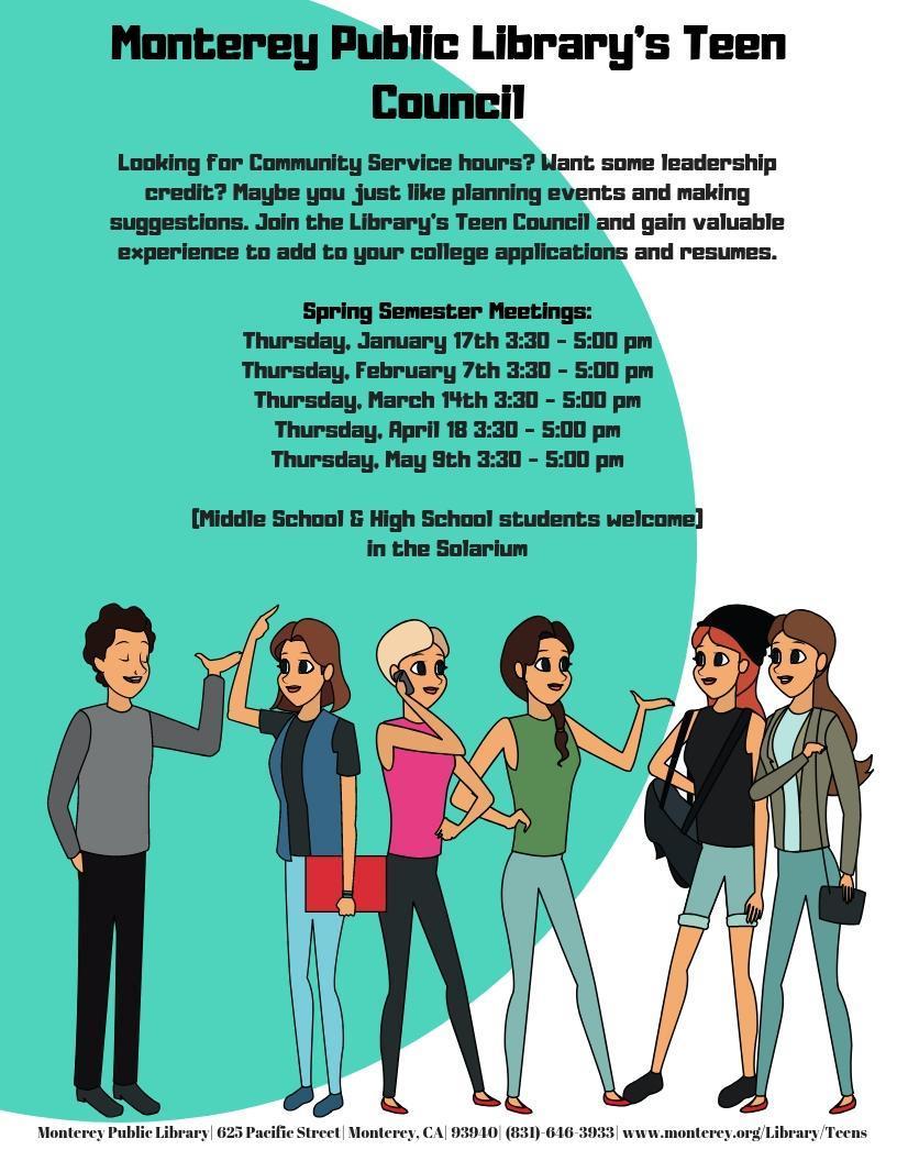 Spring Teen Council