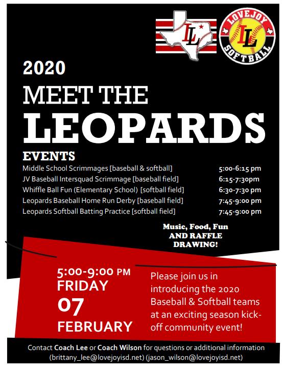 Meet the Leopards Flyer