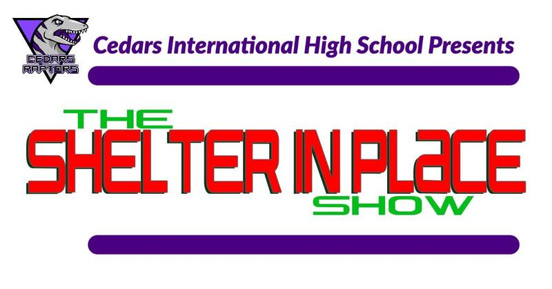 Shelter In Place Show Logo