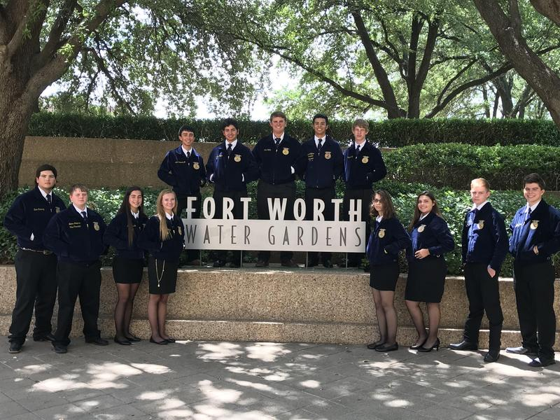 Victoria East FFA Attends 90th Annual Texas FFA Convention in Fort  Worth