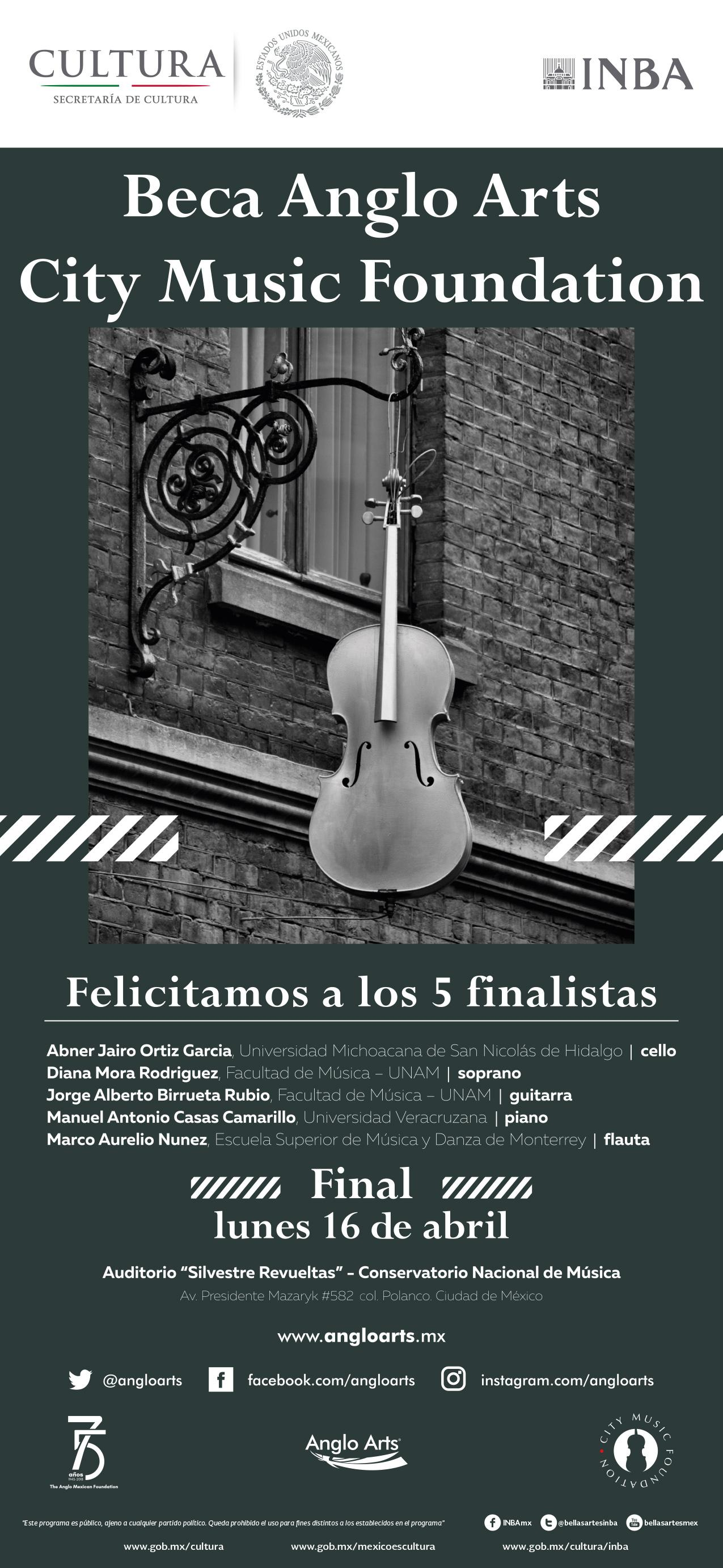 Final Beca Anglo Arts City Music Foundation