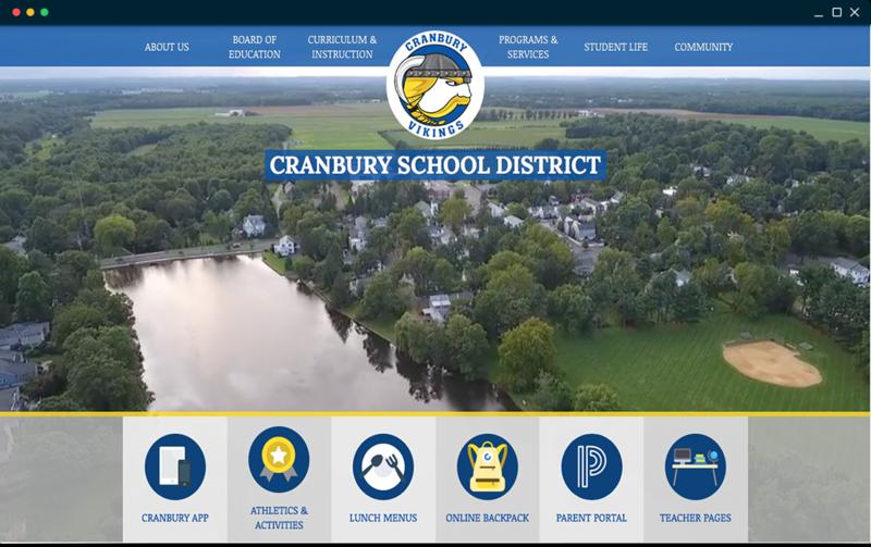 Cranbury's school website