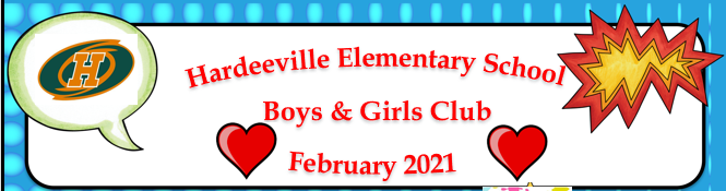 Boys and Girls Club Newsletter for February 2021 Featured Photo
