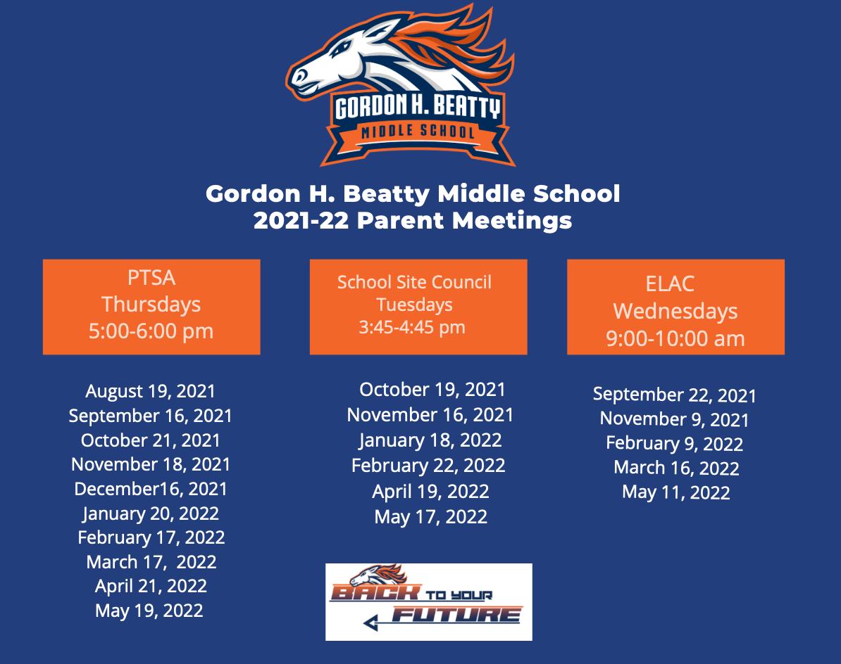 Parent Meetings