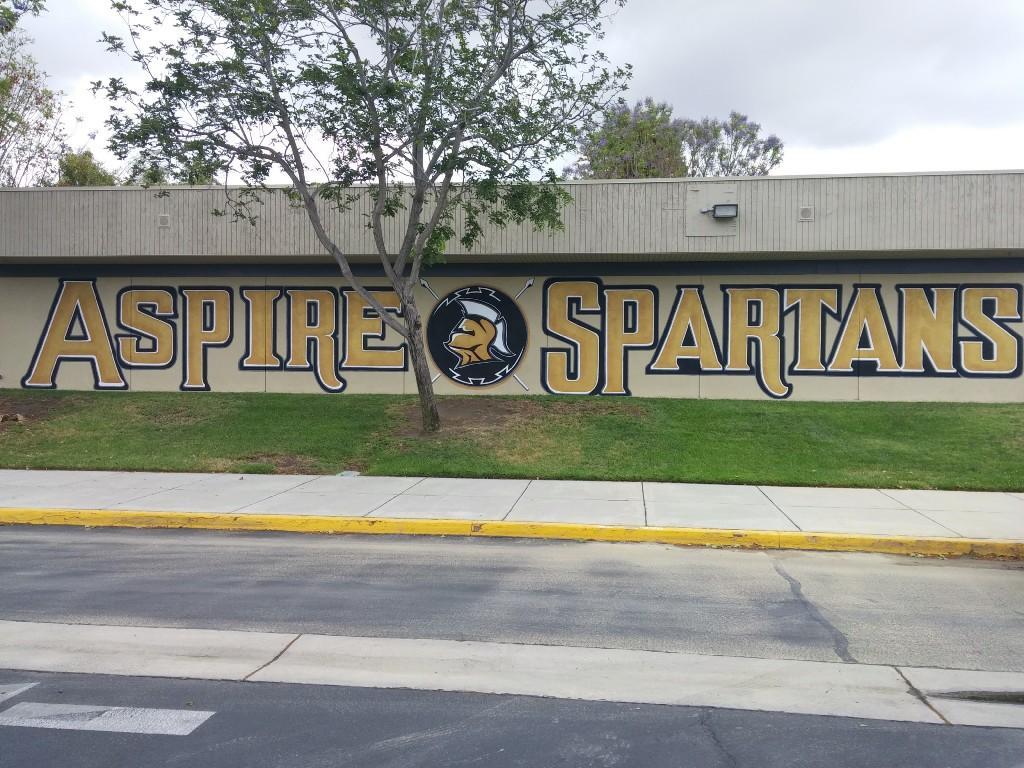 Front school logo