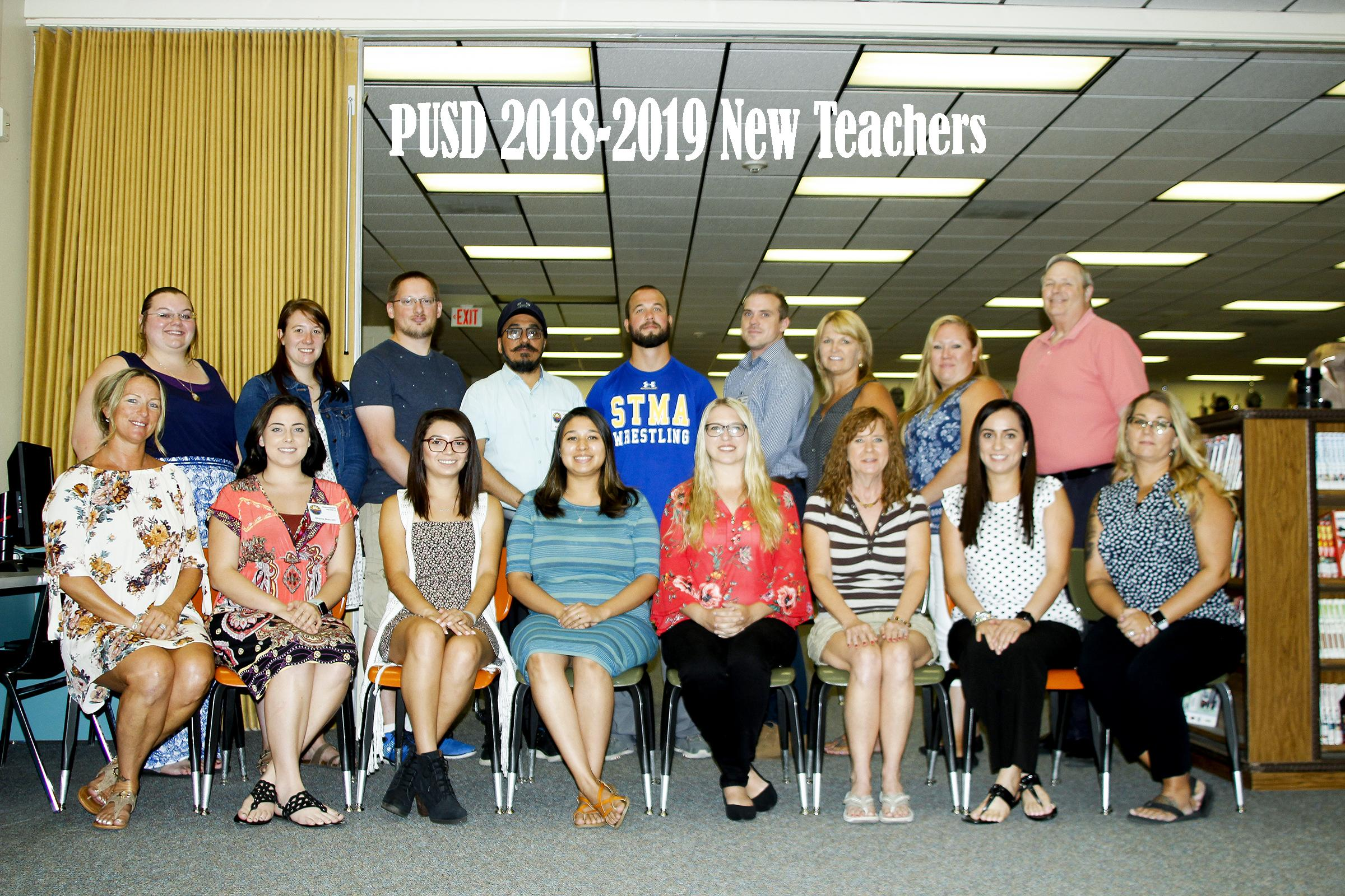 2018 2019 new teachers