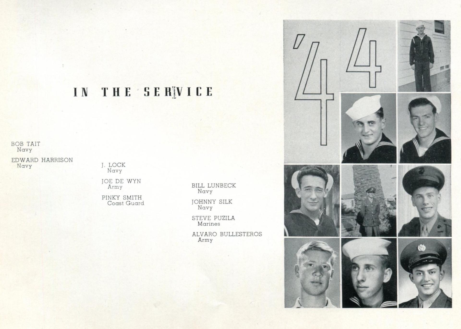Yearbook 1944 page