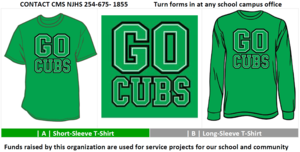 NJHS 2019 Spirit Shirts for Sale