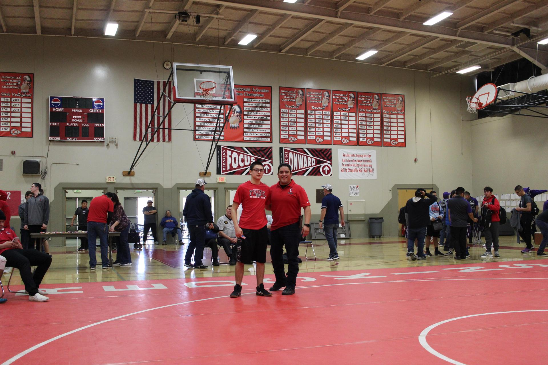 wrestlers at nsl finals