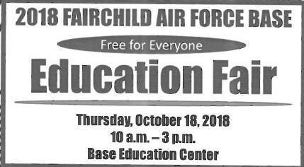 2018 Fairchild AIr Force Base Education Fair Thumbnail Image