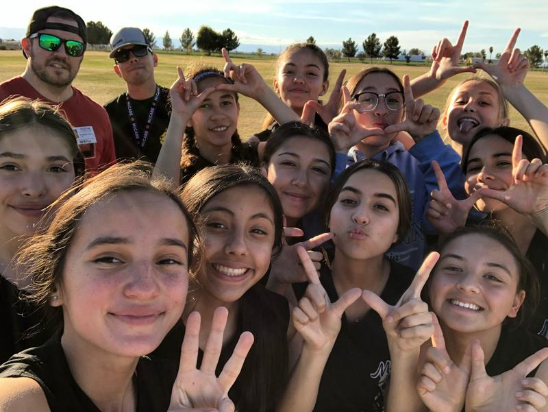 Both 7th and 8th grade girls' softball had their first wins of the season against Calipat! Thumbnail Image