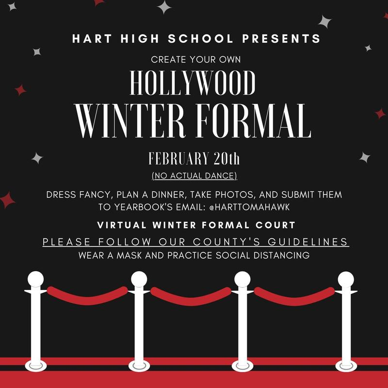 Create your own Hollywood Winter Formal