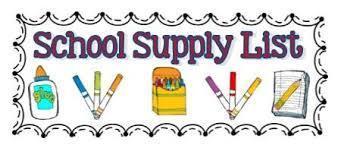 Elementary 2021-2022 School Supply List Featured Photo