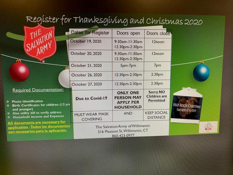 Register for Thanksgiving/Christmas 2020 Thumbnail Image