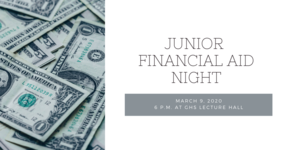 Junior Financial Aid Night