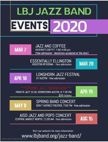 LBJ Jazz Band Featured Photo