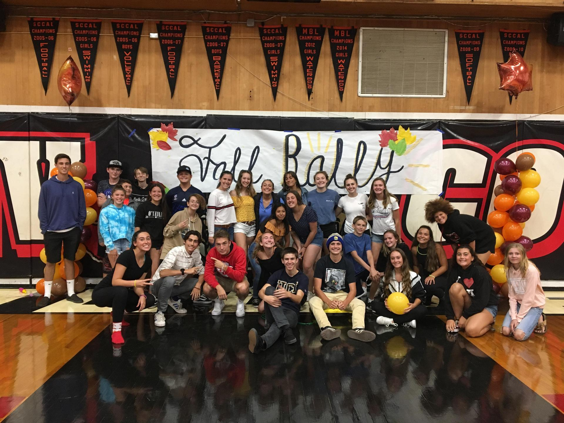 picture of fall rally - SLVHS