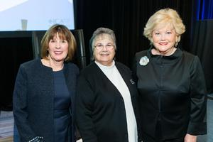 9th Annual Business Lunch - Mary Lawson, Sister Diane Aruda, O.P., Liz Dondero