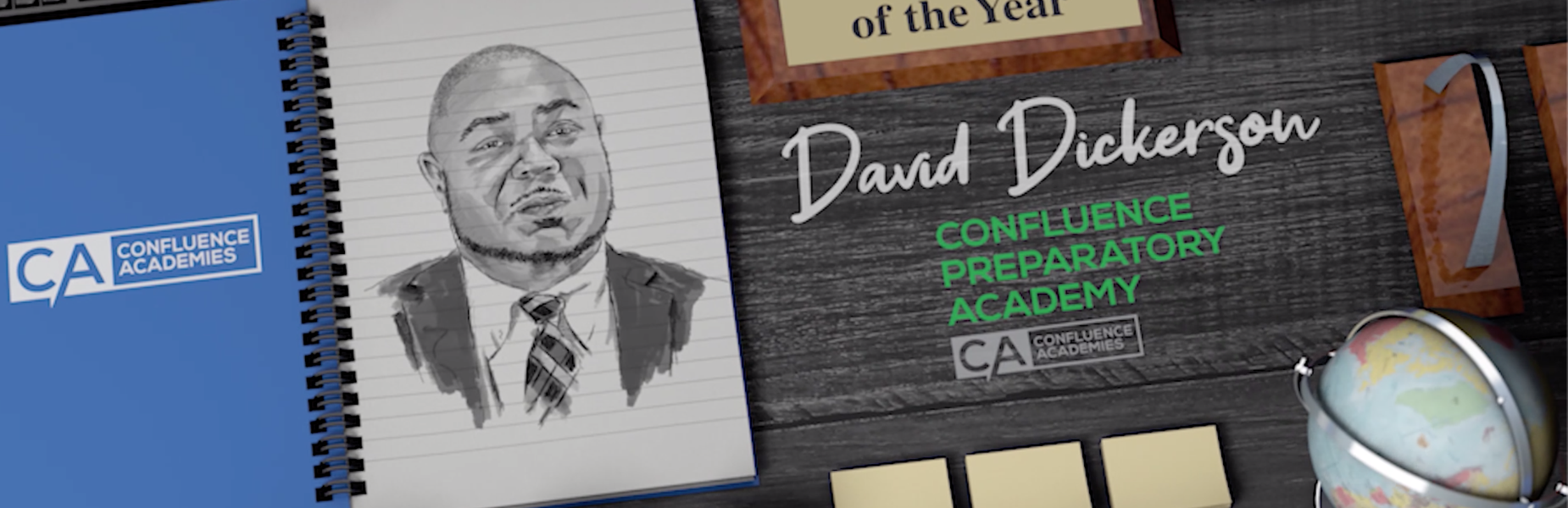 CPA Teacher of the Year David Dickerson