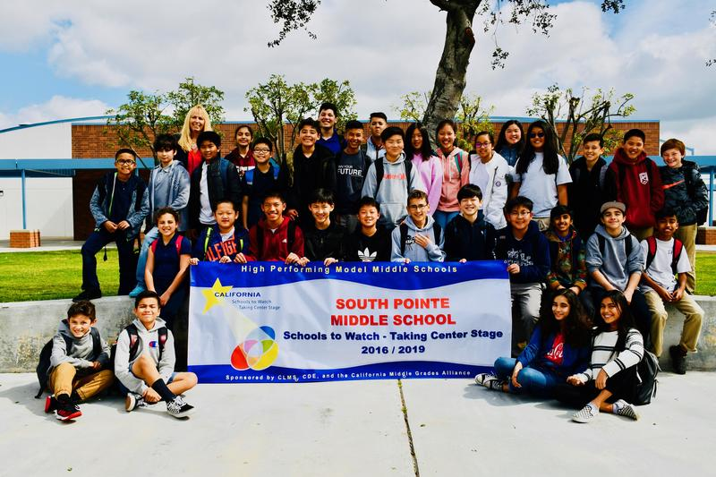 South Pointe Middle School Garners Two State Awards and National Recognition! Featured Photo