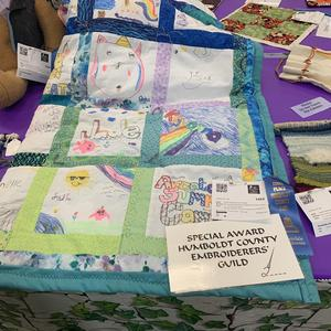 Image of prize winning quilt