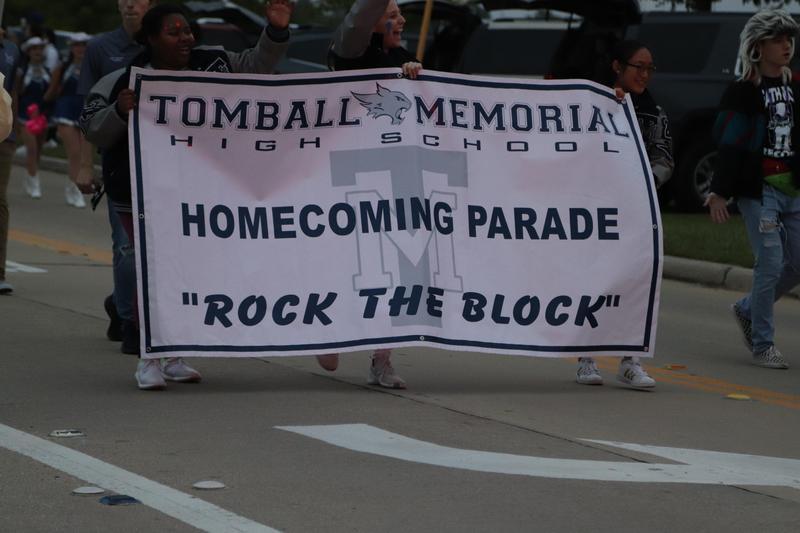 TMHS Homecoming Banner