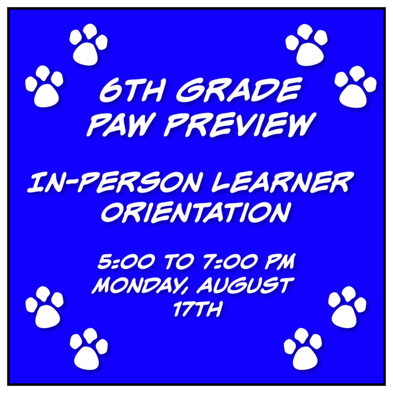 KMS 6th Grade In-Person Paw Preview Featured Photo