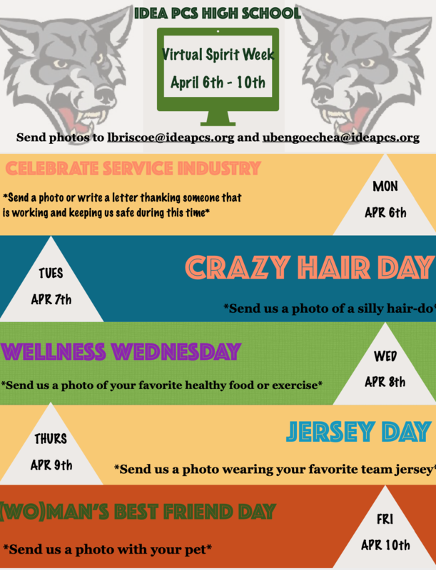 Get Ready for Virtual Spirit Week! Thumbnail Image
