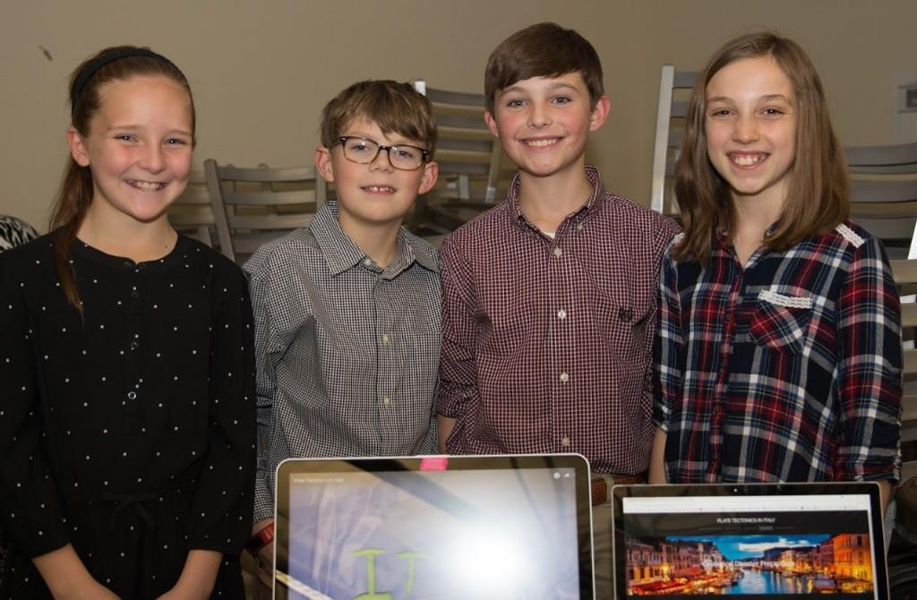 Sixth Grade Science Exhibition - Thanks to Cameron Ryan for the photos