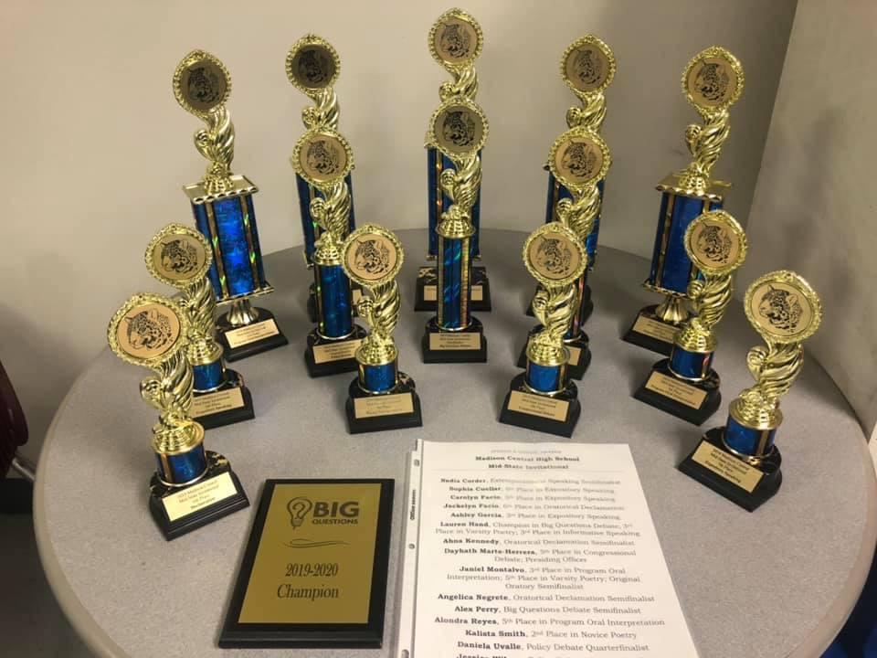 Debate Team Awards