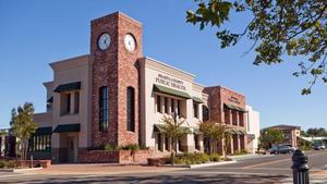 Anderson Teen Center building