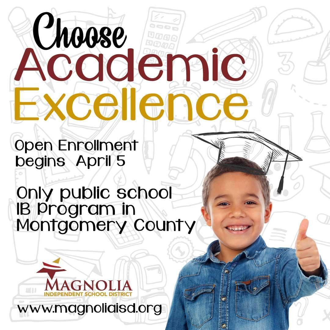 Magnolia ISD Open Enrollment Opens April 5