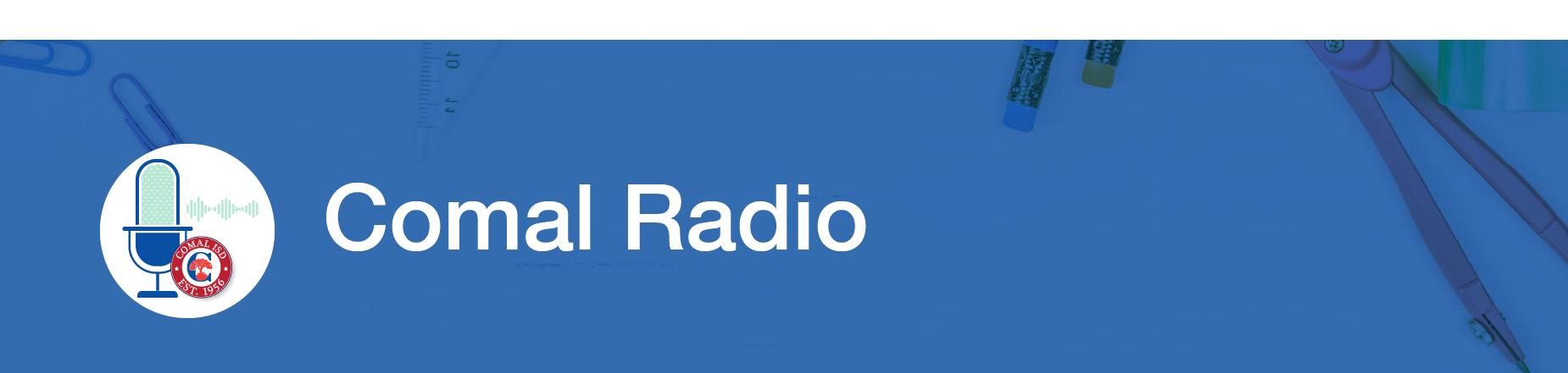 Comal Radio Banner