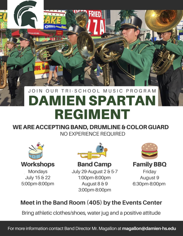 Join the Damien Spartan Regiment Featured Photo