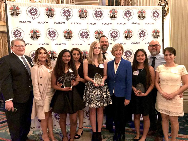 Graves Middle School Students Named Janice Hahn's Women Of The Year Featured Photo